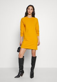 Even&Odd - BASIC - Day dress - mustard - 1