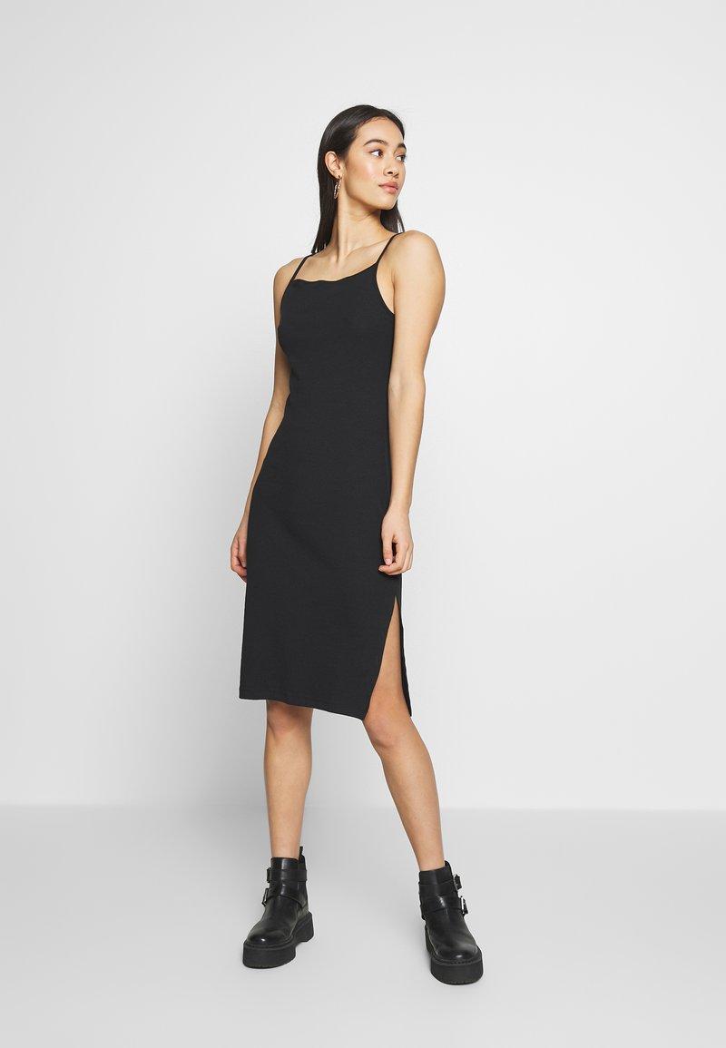 Even&Odd - BASIC - Robe fourreau - black