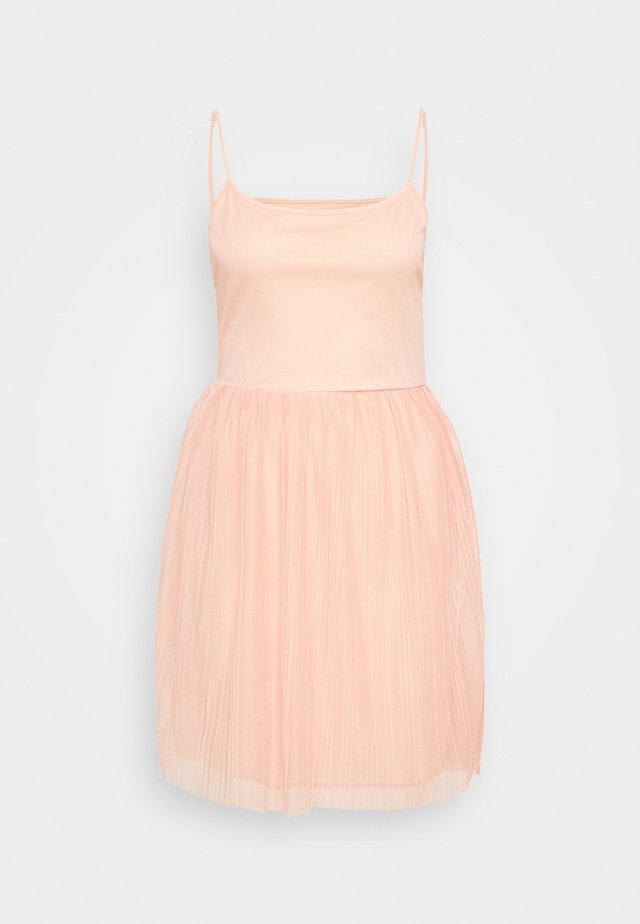Denní šaty - dusty pink