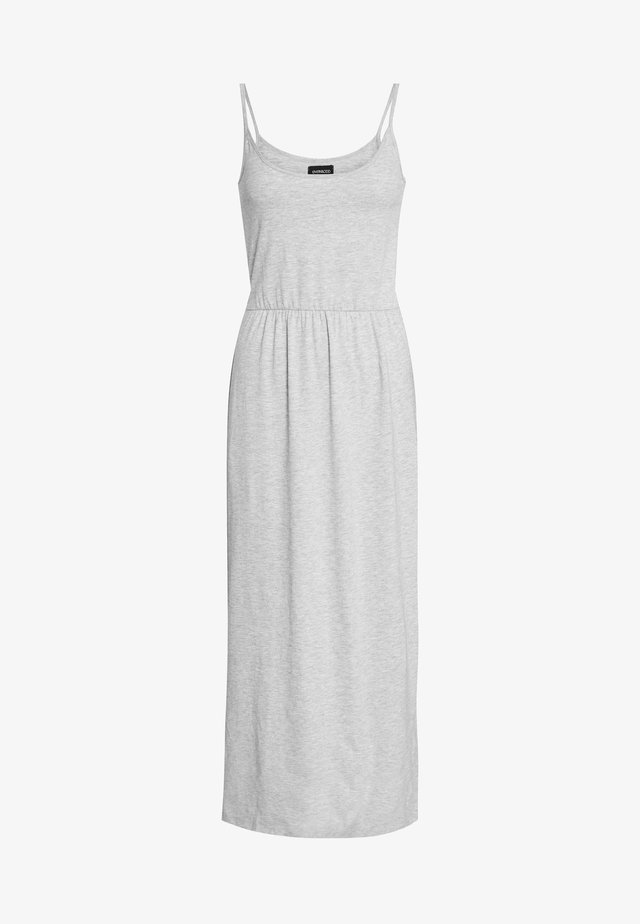 BASIC MAXIKLEID - Maxi-jurk - mottled light grey