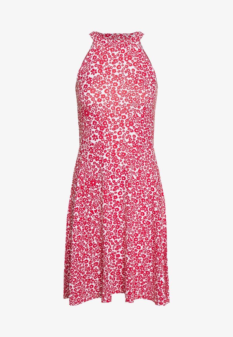 Even&Odd - Žerzejové šaty - white/red