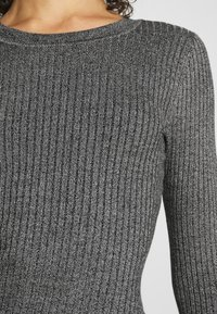 Even&Odd - BASIC - Strikket kjole - grey melange - 5
