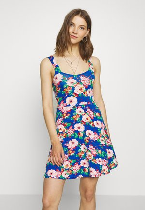 Jersey dress - multi coloured