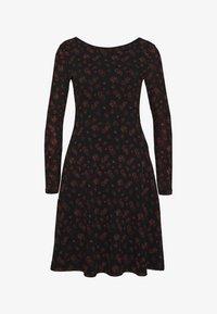 Even&Odd - Denní šaty - black/red - 4
