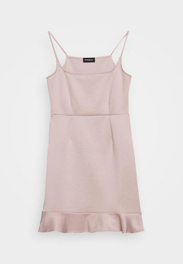 Day dress - rose dust