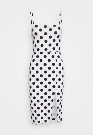 Day dress - white/black