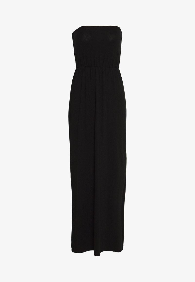 Even&Odd - BASIC MAXIKLEID - Maxi dress - black