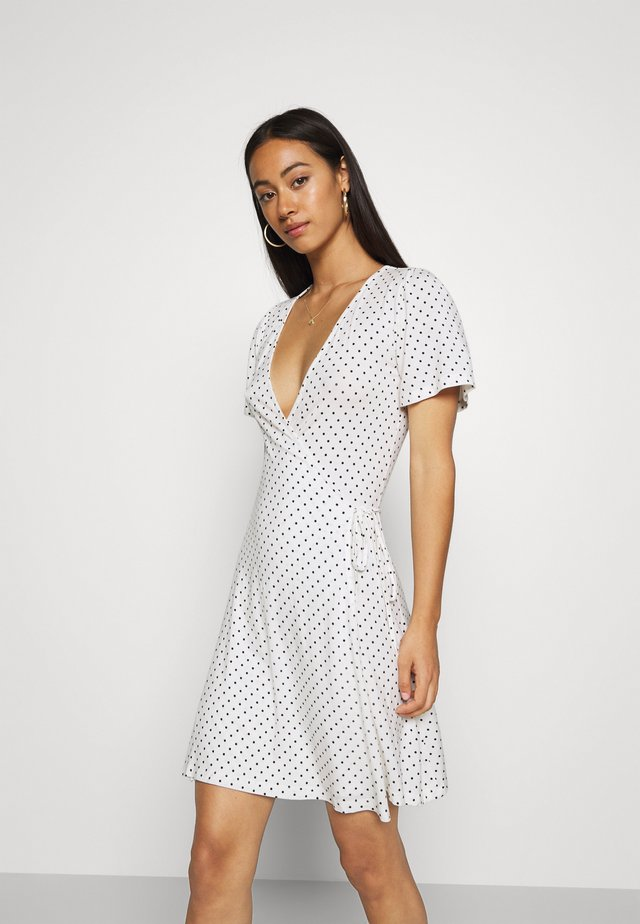 Sukienka letnia - off-white/black