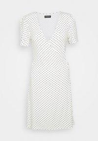 Even&Odd - Korte jurk - off-white/black - 5