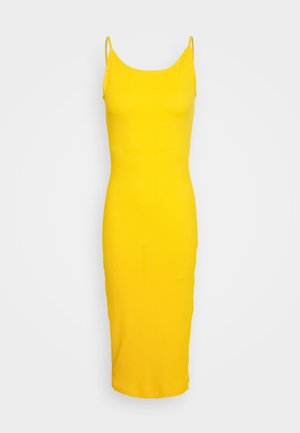 SPORTY BODY CON DEEP BACK DRESS - Korte jurk - citrus
