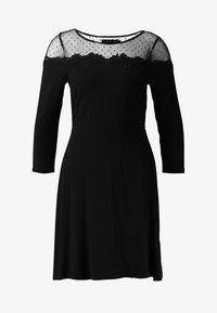 Even&Odd - Žerzejové šaty - black - 5