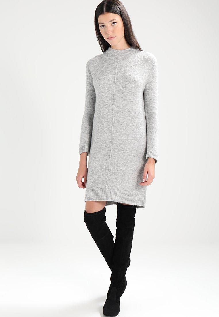 Even&Odd - Robe pull - mottled light grey