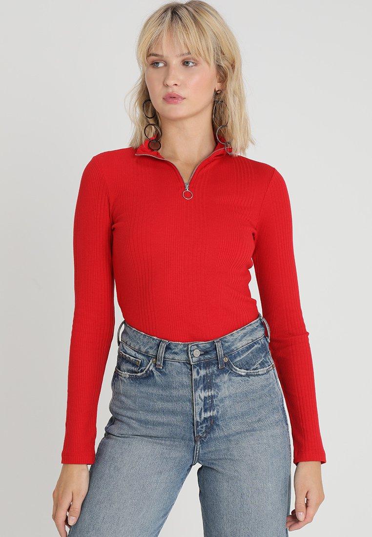 Even&Odd - Langarmshirt - red