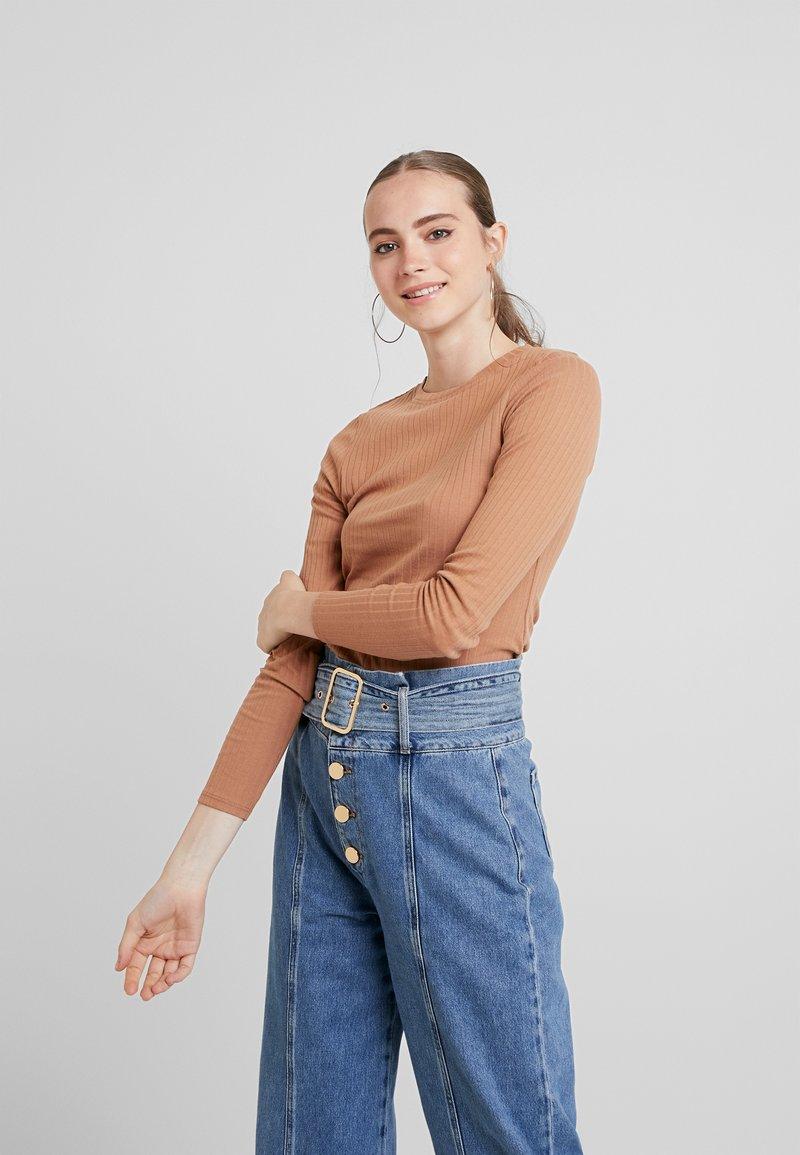 Even&Odd - Maglietta a manica lunga - tan