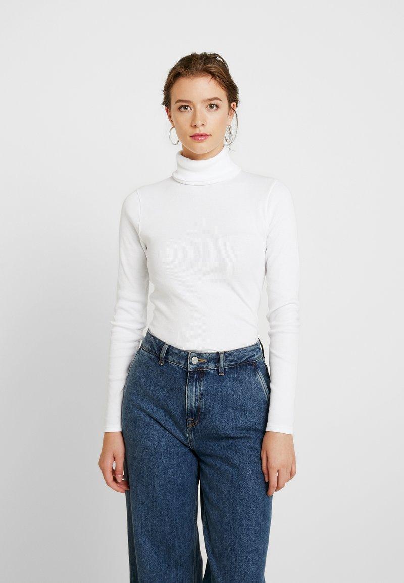 Even&Odd - Pitkähihainen paita - white