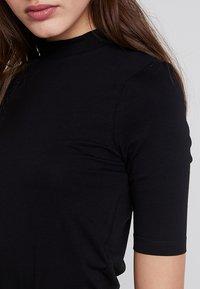 Even&Odd - Camiseta estampada - black - 4