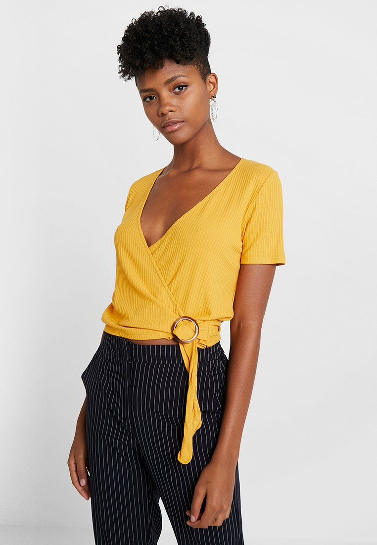 Even&Odd - T-shirts print - yellow