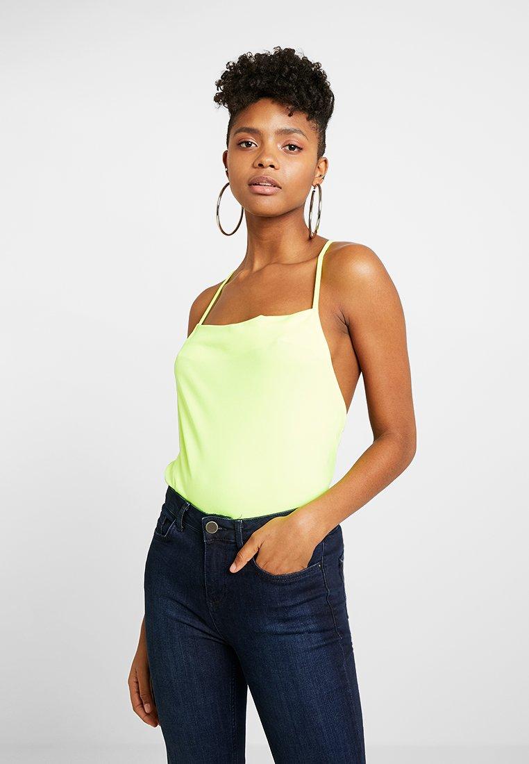 Even&Odd - Top - neon yellow