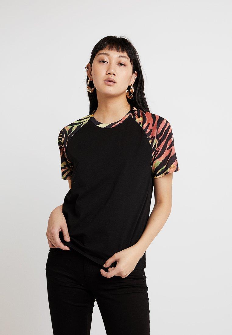 Even&Odd - T-Shirt print - black/multicoloured