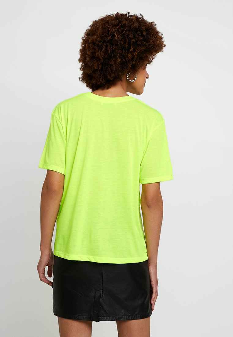 Even amp;odd Yellow shirt T BasiqueNeon Y7byIf6gv