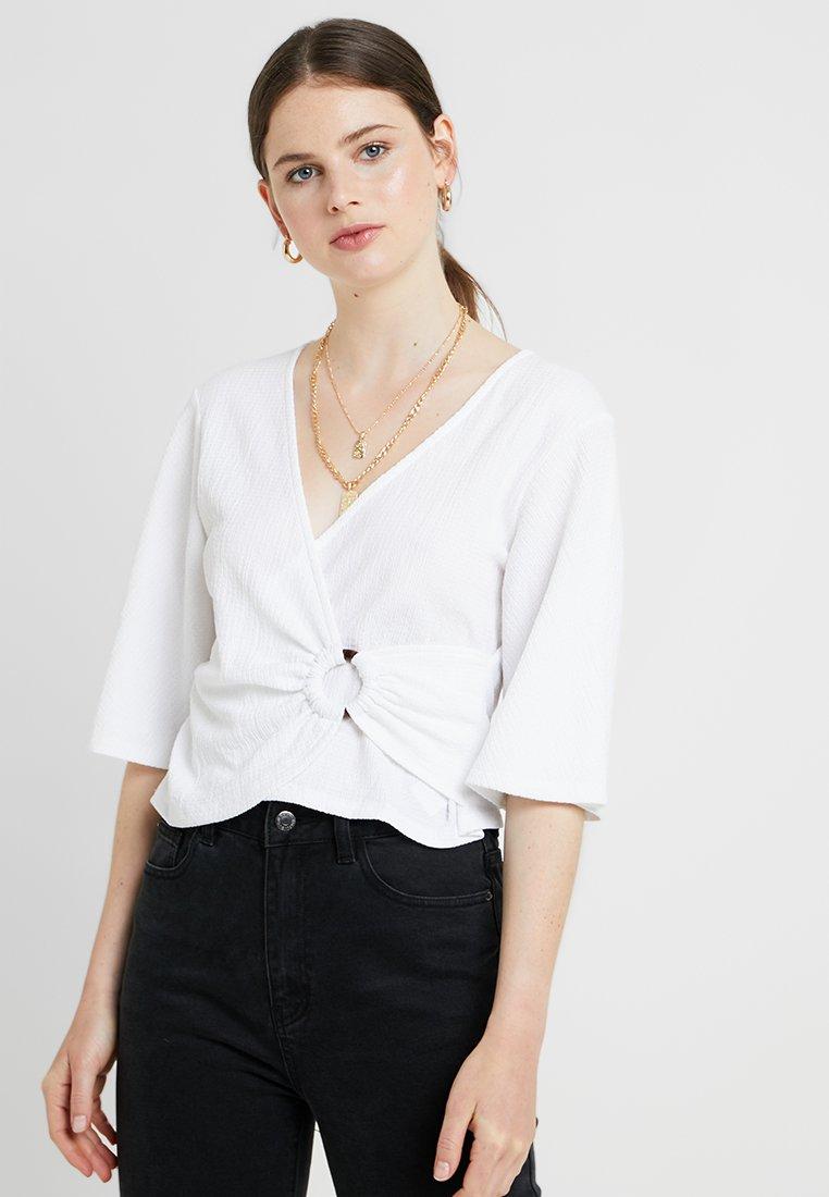 Even&Odd - T-shirt print - off-white