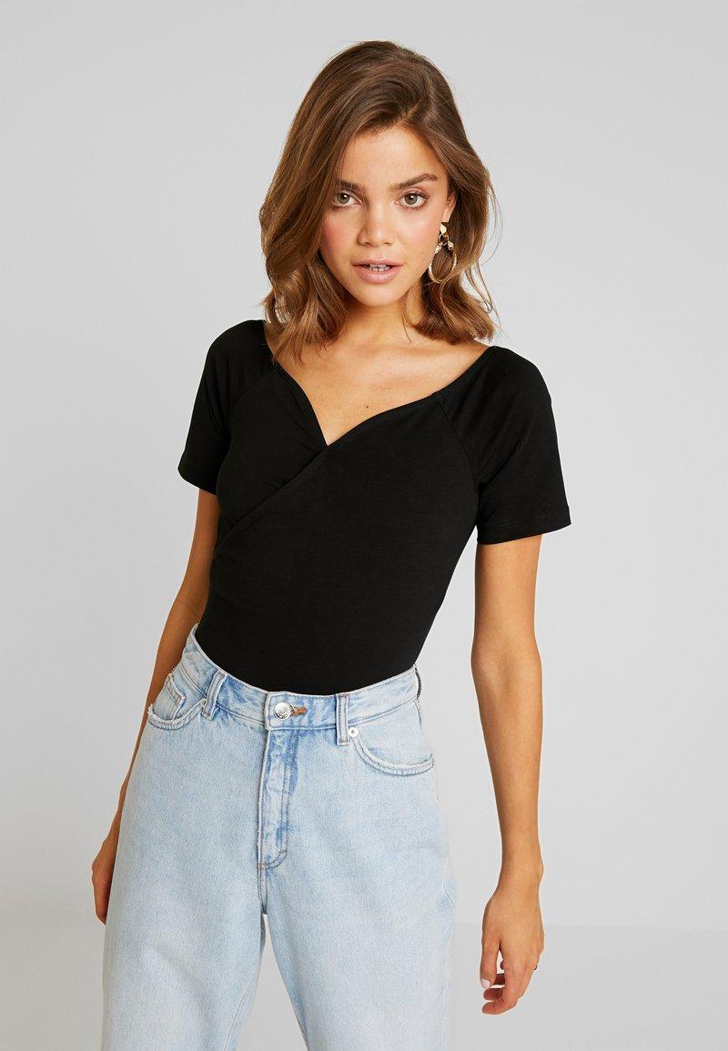 Even&Odd - BODYSUIT - T-Shirt print - black