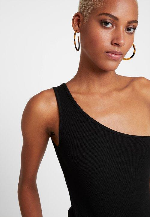 Even&Odd Top - black Koszulki i Topy AHEY-RU4 wylot