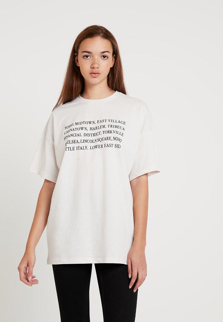 Even&Odd - T-Shirt print - beige