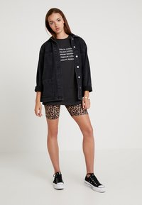 Even&Odd - T-Shirt print - anthracite - 1