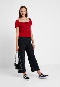 Even&Odd - Camiseta estampada - dark red - 1