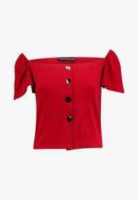 Even&Odd - Camiseta estampada - dark red - 3