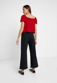 Even&Odd - Camiseta estampada - dark red - 2