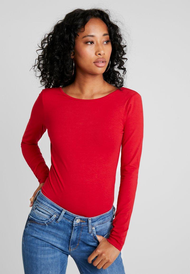 Even&Odd - BODYSUIT - Camiseta de manga larga - dark red