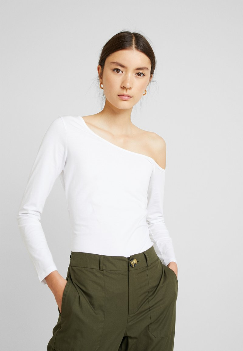 Even&Odd - Langarmshirt - white