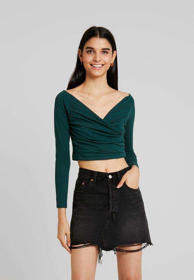 Langarmshirt - dark green
