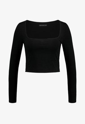 Camiseta de manga larga - black