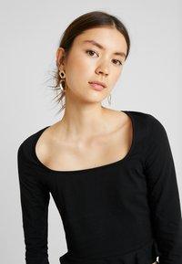 Even&Odd - T-shirt à manches longues - black - 3