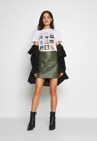 Even&Odd - T-shirts med print - white - 1