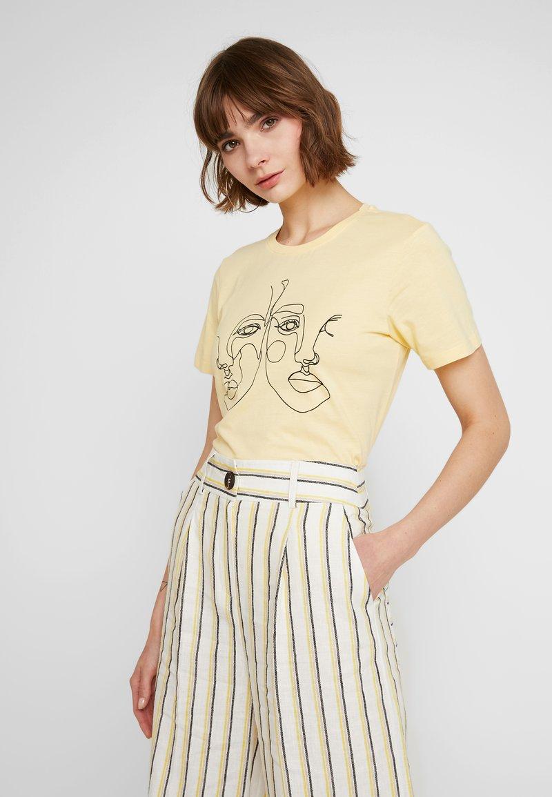 Even&Odd - T-shirts print - light yellow