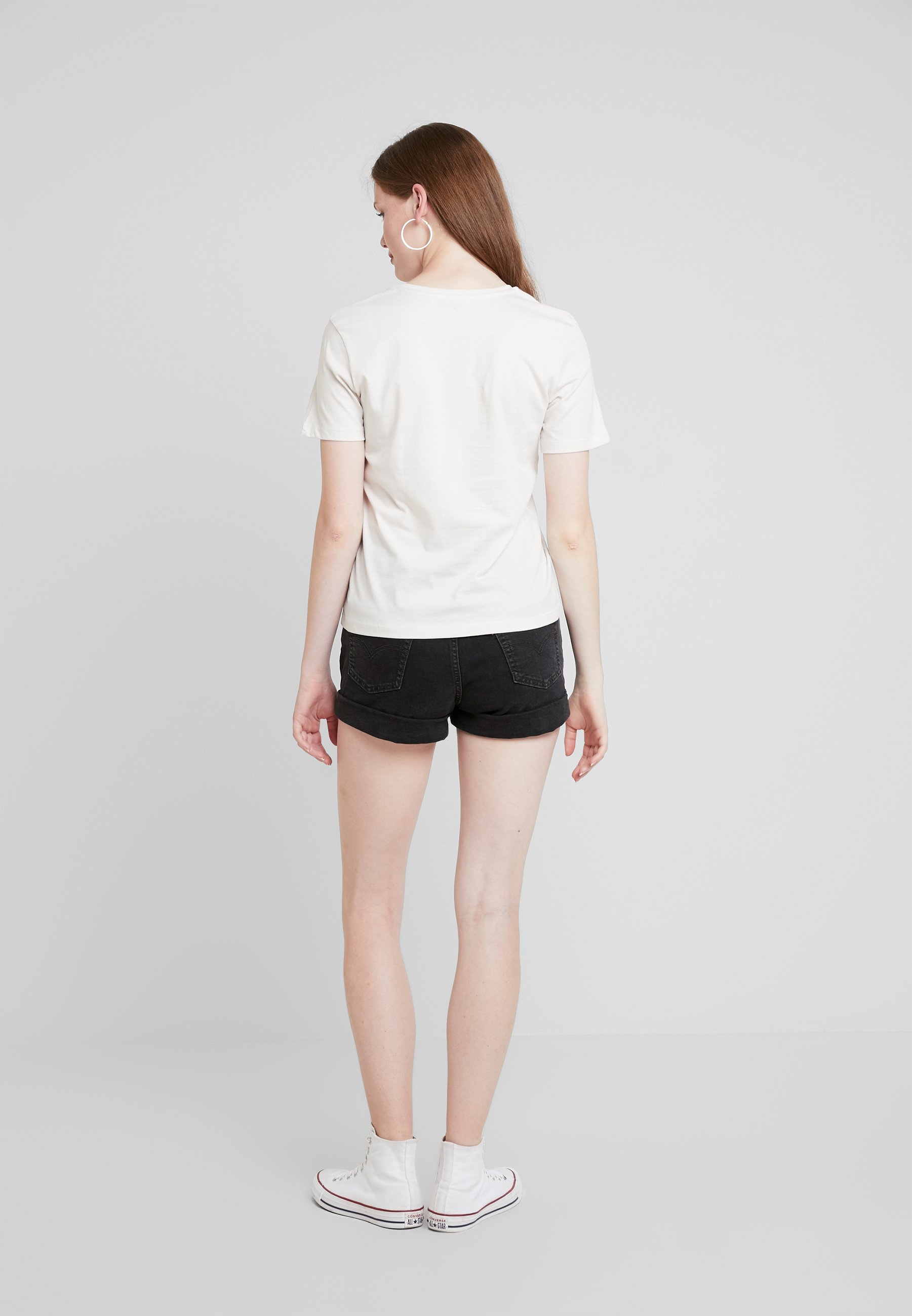shirt amp;odd white T Even ImpriméOff bfvIY76gym