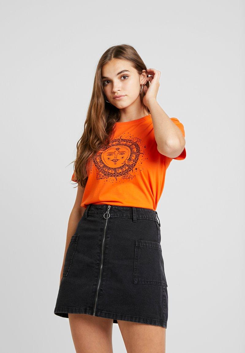Even&Odd - T-Shirt print - orange