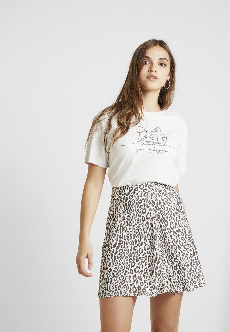 Even&Odd - Print T-shirt - off-white