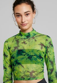 Even&Odd - T-shirt print - green - 4