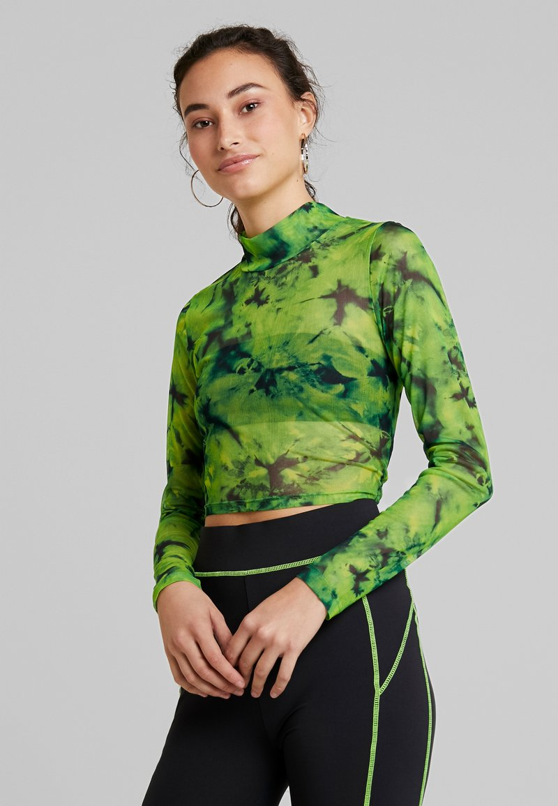 Even&Odd - T-shirts med print - green