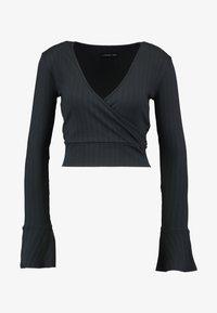 Even&Odd - Maglietta a manica lunga - black - 4