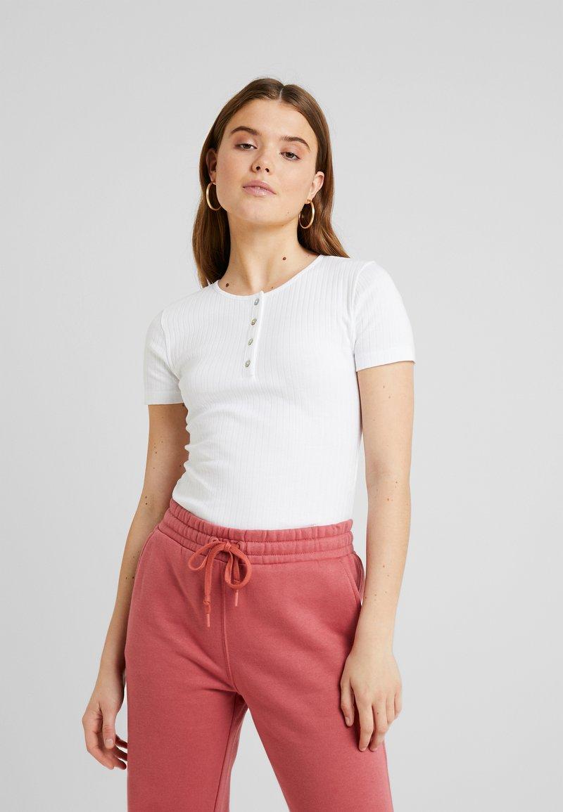 Even&Odd - T-shirt - bas - white