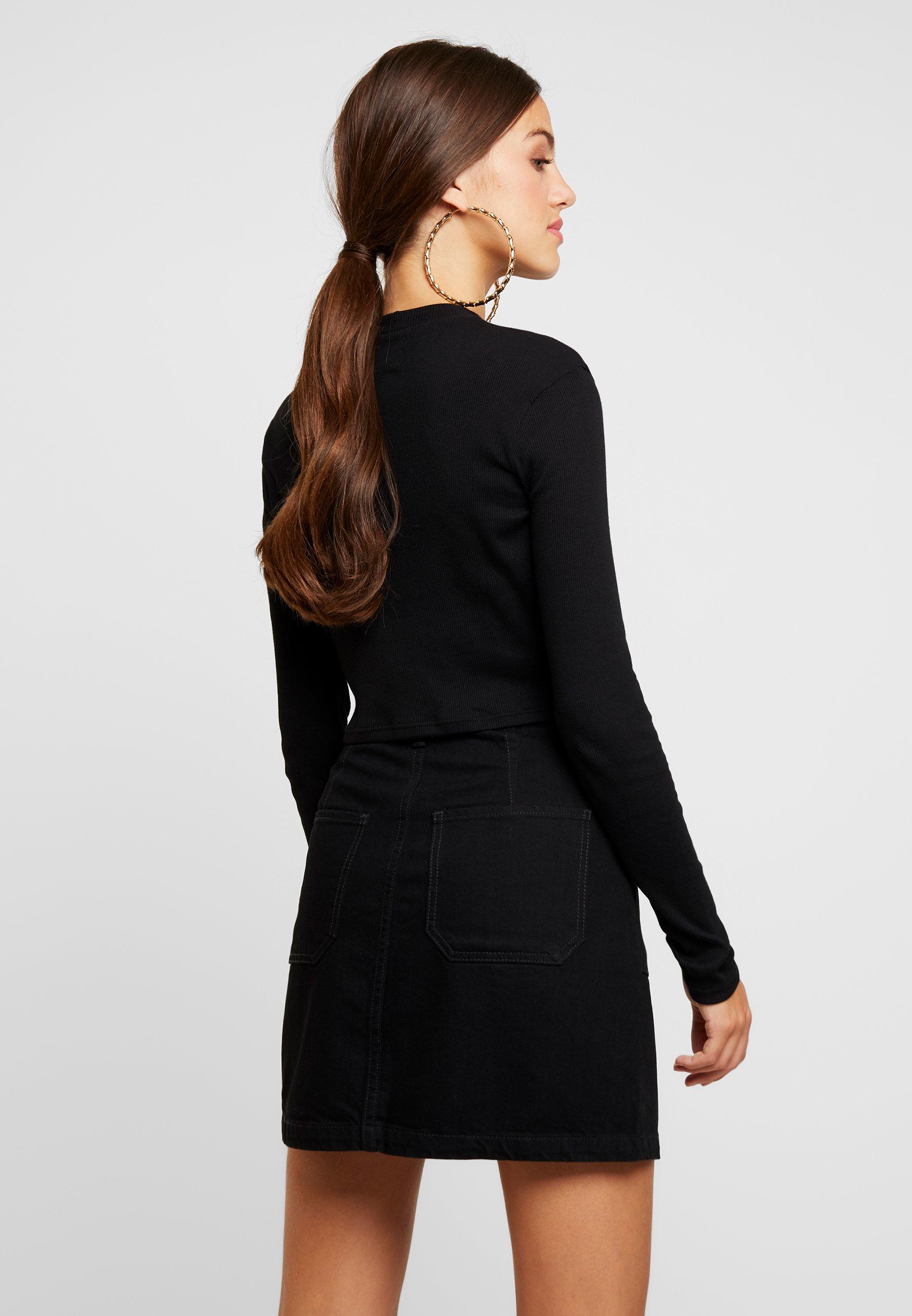 amp;Odd shirt Even manches black T à longues 1JlFcTK