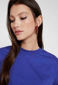 Even&Odd - T-shirt basic - clematis blue - 3