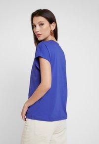 Even&Odd - T-shirt basic - clematis blue - 2