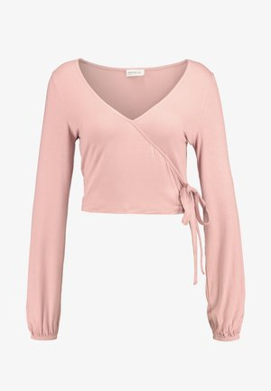 Camiseta de manga larga - rose